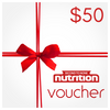 Second To None Nutrition Yeppoon Gift Voucher $50