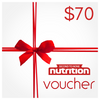 Second To None Nutrition Yeppoon Gift Voucher $70