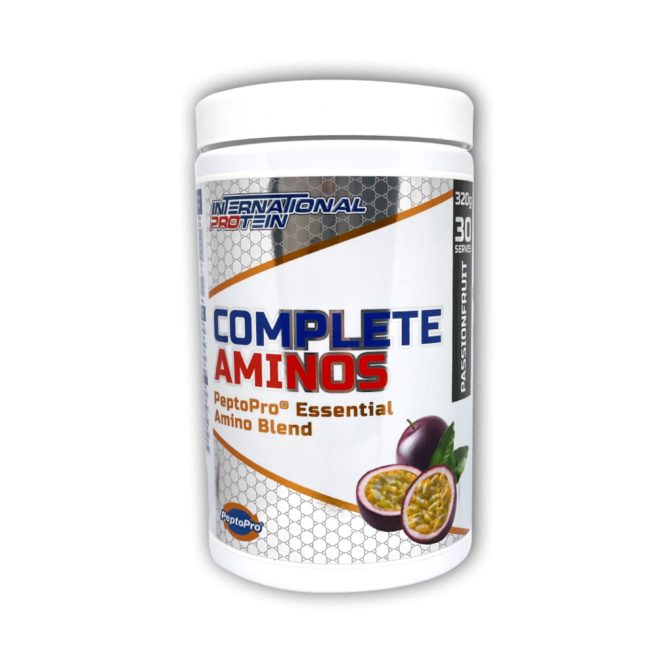 Complete Aminos Passionfruit by International Protein