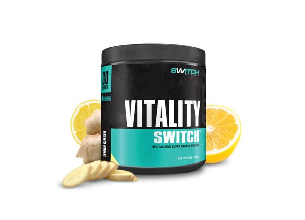 SWITCH Vitality Lemon Ginger 30 serves