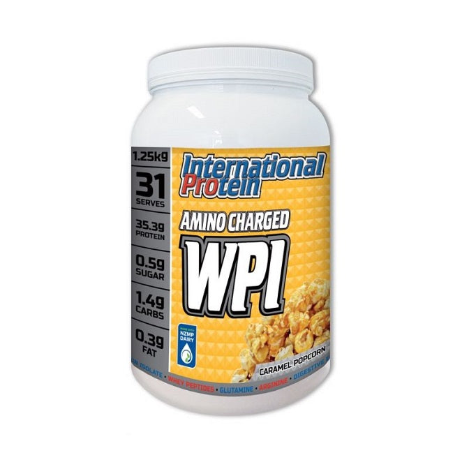 International Protein Amino Charged WPI Caramel Popcorn 1.25kg