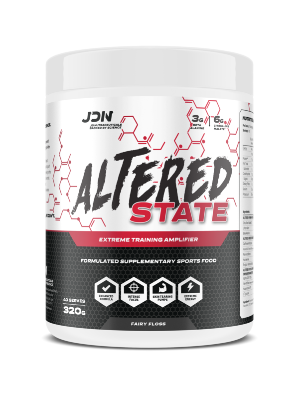 JD NUTRACEUTICALS ALTERED STATE Fairy Floss 40 serves