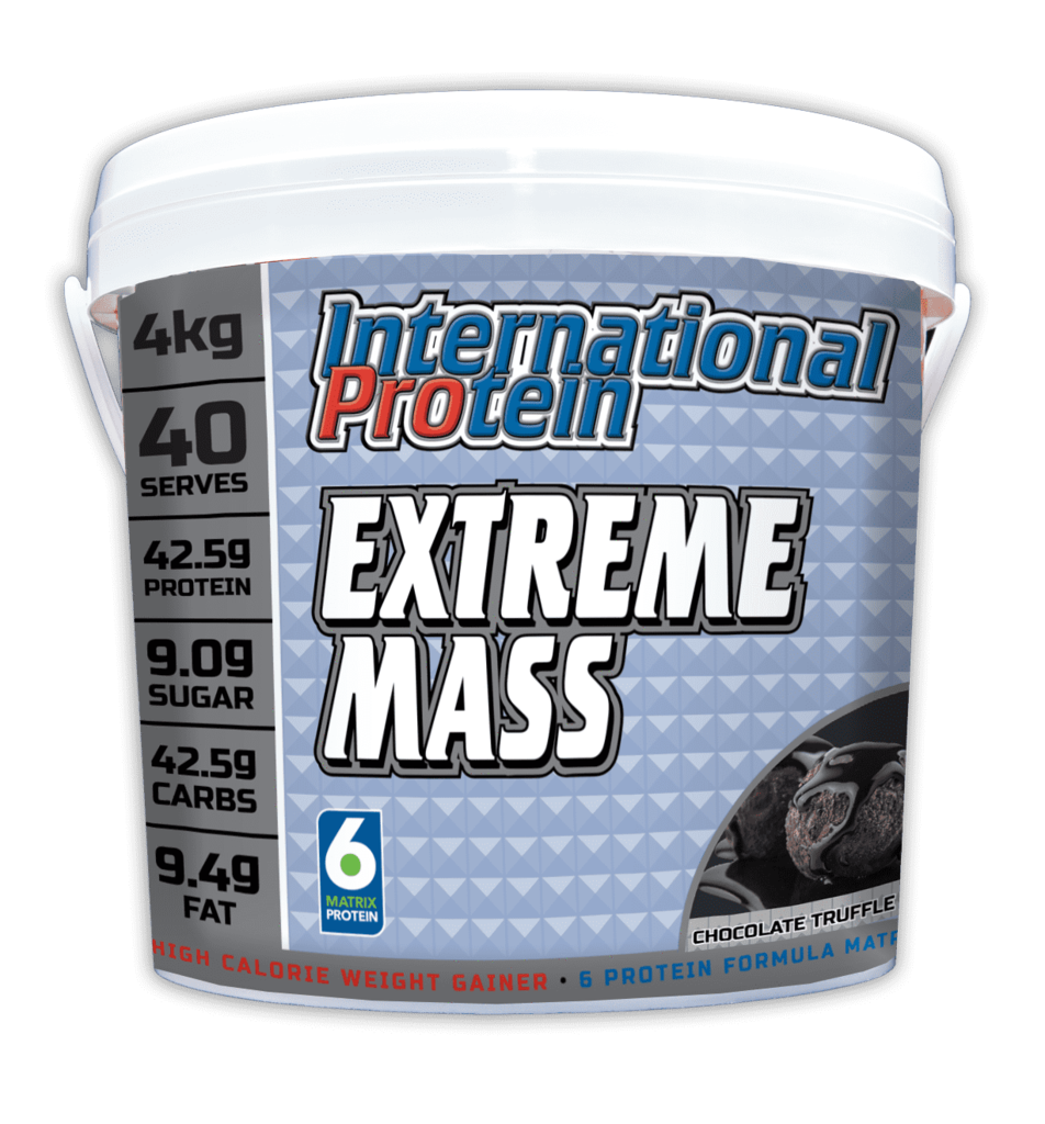 INTERNATIONAL PROTEIN Extreme Mass Vanilla 40 serve