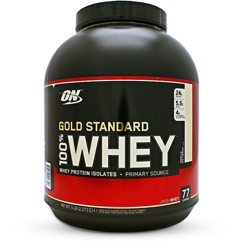 GOLD STANDARD 100% WHEY by Optimum Nutrition Cookies & Cream 2.27kg