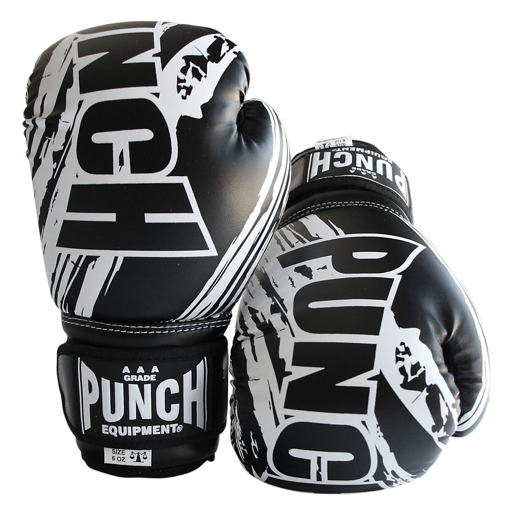 KIDS / JUNIOR AAA BOXING GLOVES 6 OZ BLACK