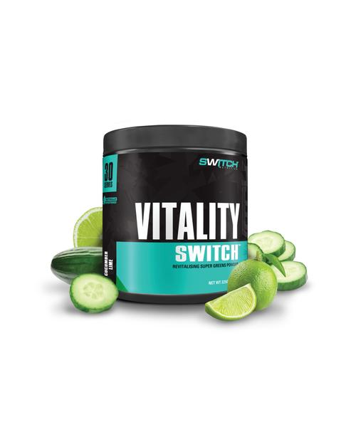 SWITCH Vitality Cucumber Lime 30 serves