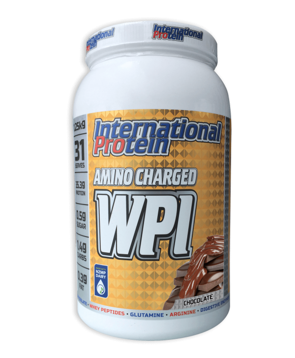 International Protein Amino Charged WPI Chocolate 1.25kg