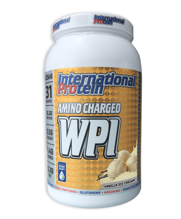 International Protein Amino Charged WPI Choc Raspberry 1.25kg