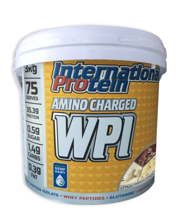 International Protein Amino Charged WPI Multi Flavour 3kg