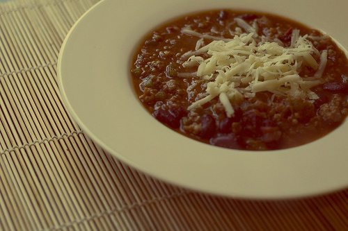 Espresso-infused Chili for Sunday's Big Game