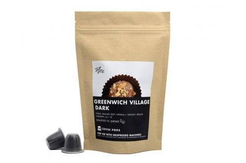 Greenwich Village Dark <br> 20 Pods for Nespresso