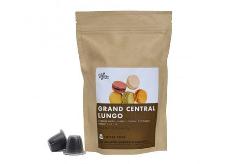 Grand Central Lungo <br> 20 Pods for Nespresso