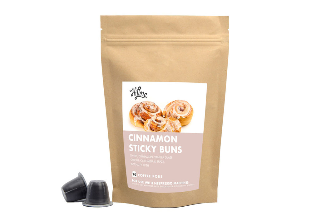 Cinnamon Sticky Buns <br> 20 Pods for Nespresso