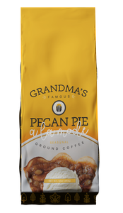 Grandma's Famous Pecan Pie a la mode Flavored Coffee 12oz Ground