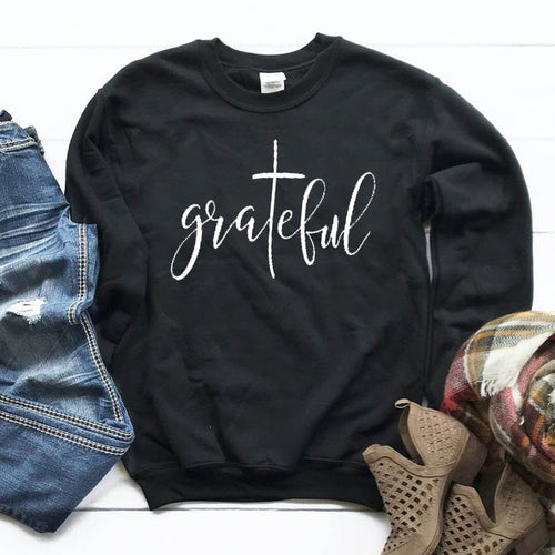 Grateful Christian Sweatshirt