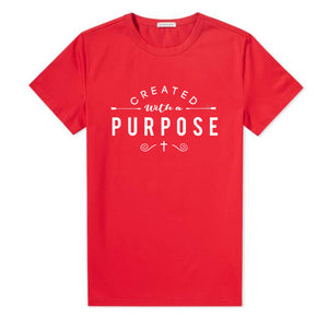 Created with A Purpose T-Shirt