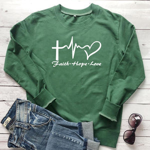 Faith Hope Love Sweatshirt