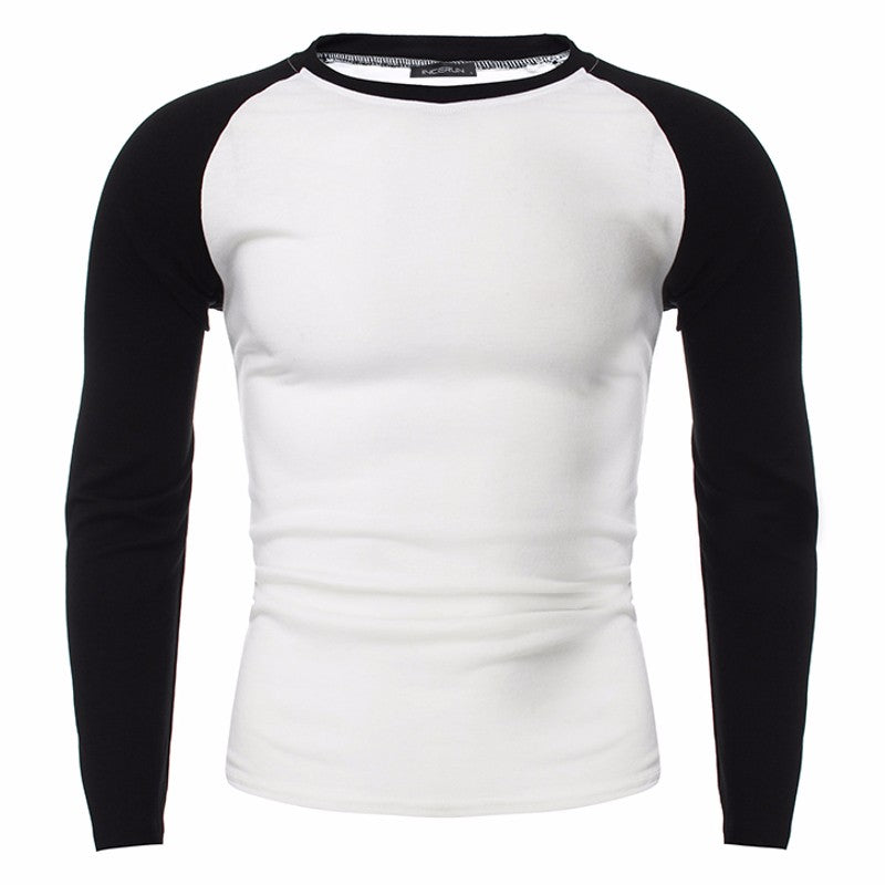 ae4e193dace9 Muscle Tee Fashion Mens Tshirts Long Sleeve Casual Tee Pullover Slim F –  life after sweat