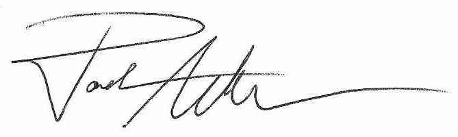 Signature of author on all your books