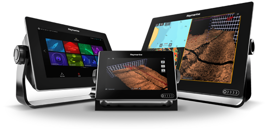 Raymarine products now available