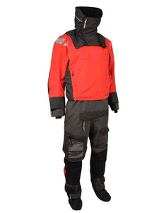 seahorse-chandlery, Typhoon PS440 Hinge-Entry Drysuit in Red, Typhoon, Drysuit