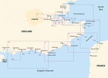 Load image into Gallery viewer, Imray 2100 Kent And Sussex Coasts Chart Pack