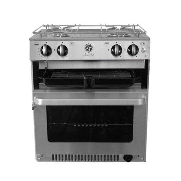 seahorse-chandlery, Aqua Chef V5030 3 Burner Hob with Grill & Oven, Aqua Chef, Grill & Hob