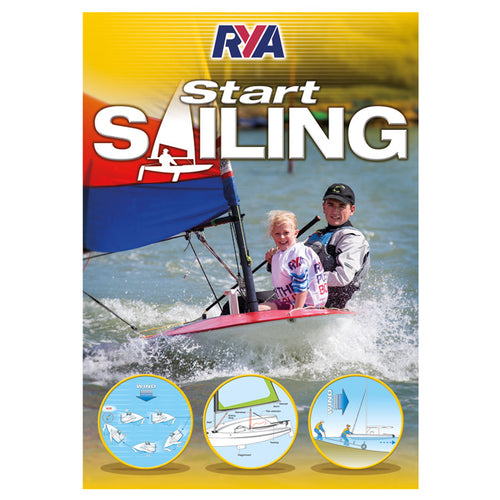 seahorse-chandlery, RYA Start Sailing - Beginners Handbook (G3), RYA, Book