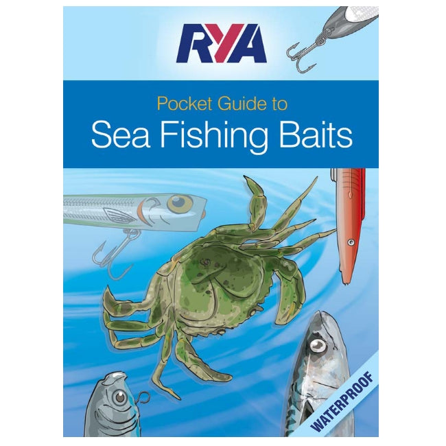 seahorse-chandlery, RYA Pocket Guide to Sea Fishing Baits (G91), RYA, Books