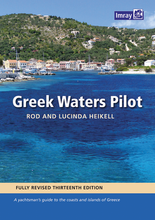 Load image into Gallery viewer, Imray Greek Waters Pilot