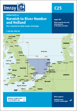 Load image into Gallery viewer, Imray C25 Chart: Harwich To River Humber And Holland