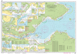 Imray c27 Chart: Firth Of Forth