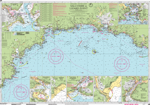 Imray C6 Chart: Salcombe To Lizard Point