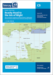 Imray C9 Chart: Beachy Head To Isle Of Wight