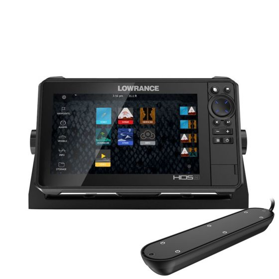 Lowrance HDS-9 Live-With Live ROW Active Imaging 3 in 1 Transducer