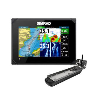 Simrad GO7 XSR-with Active Imaging 3-in-1 Transducer