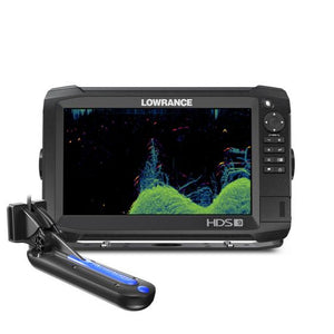 Lowrance HDS Carbon 9-With TotalScan Transducer (734-00013685001)