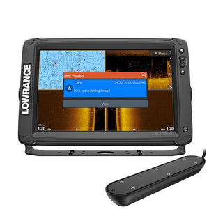 Lowrance Elite-12 Ti²-With Active Imaging 3 in 1 Transducer