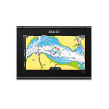 Load image into Gallery viewer, B&G Vulcan 9FS 9-Inch Chartplotter Radar Sonar South Europe CMap Chart