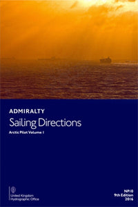 NP10 - Admiralty Sailing Directions: Artic Pilot Volume 1( 9th Edition)