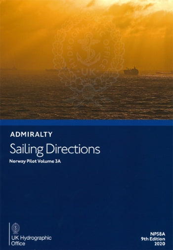 NP58A - Admirality Sailing Directions: Norway Pilot Volume 3A ( 9th Edition )