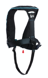 Kru Sport ProADV Automatic with Harness Lifejacket in Carbon / Sky