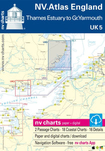 UK 5: NV Atlas England - Thames Estuary To Great Yarmouth