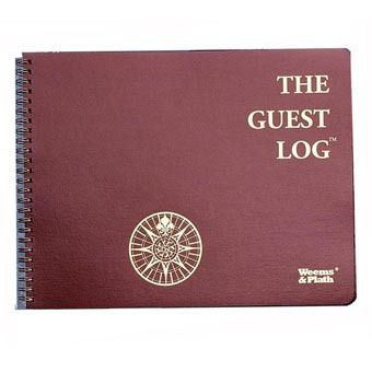 Weems & Plath The Guest Logbook