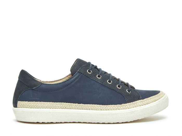 Chatham Margot - White Leather Lace-up Trainers