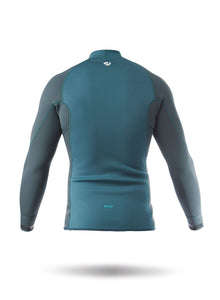 Zhik Mens Microfleece X Eco Top Sea Green