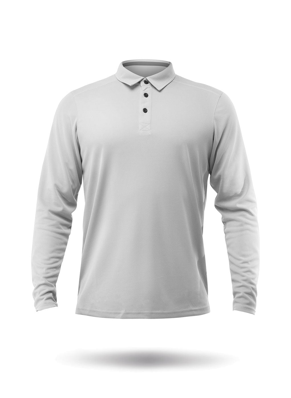 Zhik Mens Long Sleeve Zhikdry LT Polo Ash