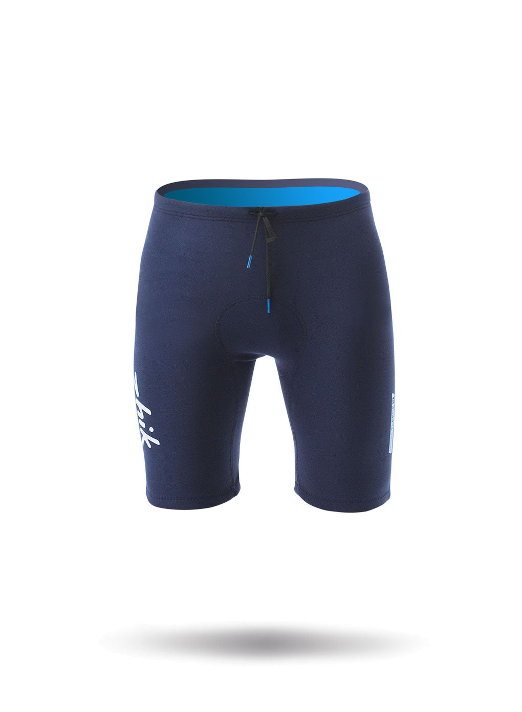 Zhik Microfleece V Shorts - Navy Blue