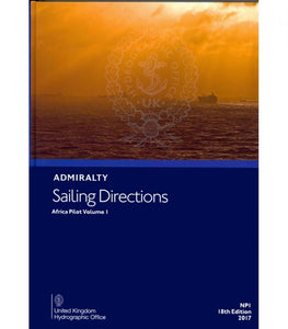 NP1 - Admiralty Sailing Directions: Africa Pilot Volume 1 (18th Edition)