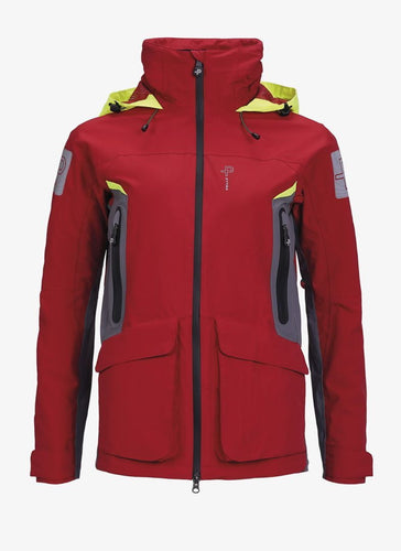 seahorse-chandlery, Pelle P Ladies Tactic Race Jacket - Race Red, Pelle P, Sailing Jacket